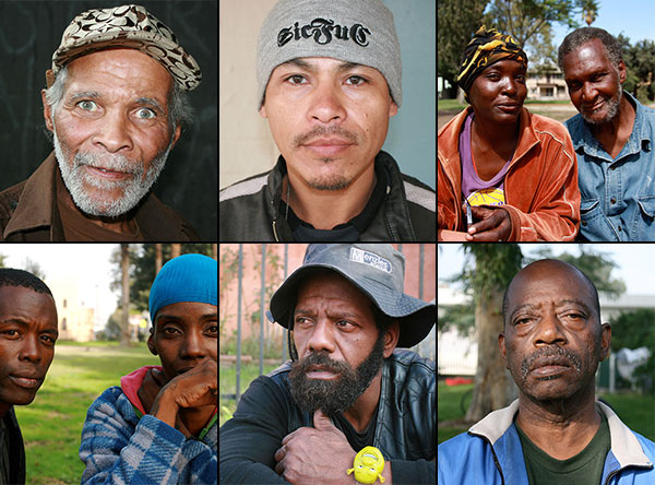 Faces of the street